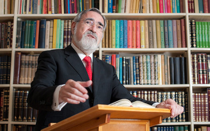 After 22 Years as Chief Rabbi of the U.K., Jonathan Sacks Wants To Go Global/Yair Rosenberg