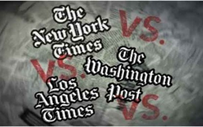 In-Depth Analysis: The New York Times, Washington Post & LA Times by Yarden Frankl