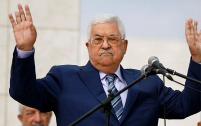 PLO TO DISCUSS REVOKING ISRAEL RECOGNITION, ENDING SECURITY COORDINATION by BY KHALED ABU TOAMEH