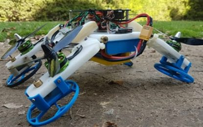 Israeli Researcher Rolls Out Groundbreaking Flying/Driving Robot ByJudy Siegel-Itzkovich