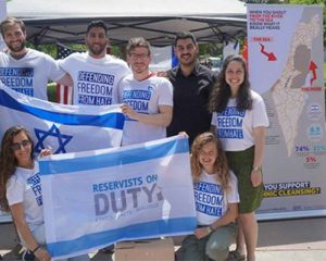 RESERVISTS ON DUTYFIGHT FOR ISRAELON COLLEGE CAMPUSES by Daniel Greenfield