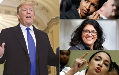 sTRUMP NAMES 'AOC AND HER CROWD' A BUNCH OF ANTISEMITES, ISRAEL HATERSA BYSYDNEY DENNEN