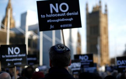 FIRST HALF OF 2019 SEES RECORD-HIGH NUMBERS OF ANTISEMITISM IN UK BY ILANIT CHERNICK