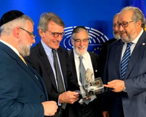 sNew European Parliament President Tells Rabbis He Will Protect Jewish Practices and Fight Antisemitism