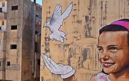 International Graffiti Artists Travel to Samarian Town of Dolev To Memorialize Slain Teen