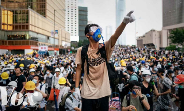 Frontpage Person of the Year: The Hong Kong Protestor by Daniel Greenfield